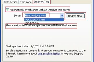 How to Synchronise Your Computer Time With The Internet Clock 37