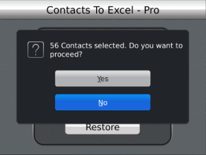 How to Transfer Blackberry Mobile Contacts to Excel
