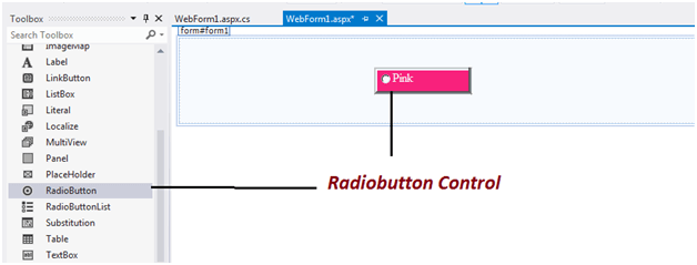 Introduction to RadioButton Control in Asp.net